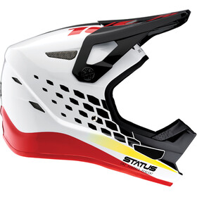 100% Status DH/BMX - Casco de bicicleta - blanco
